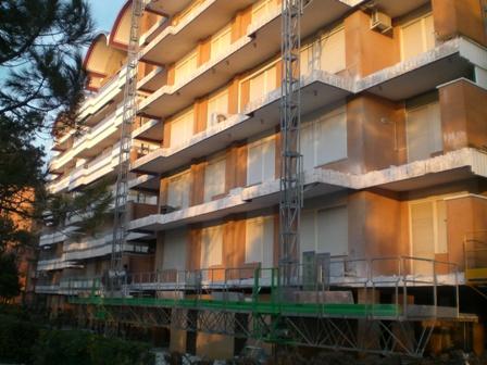 Rifacimento terrazzi in condominio